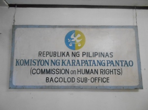 Commission on Human Rights in Bacolod