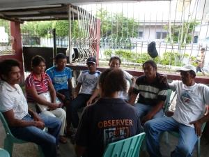 Menschenrechtsverteidiger_innen berichten über die Situation in Barangay Tala